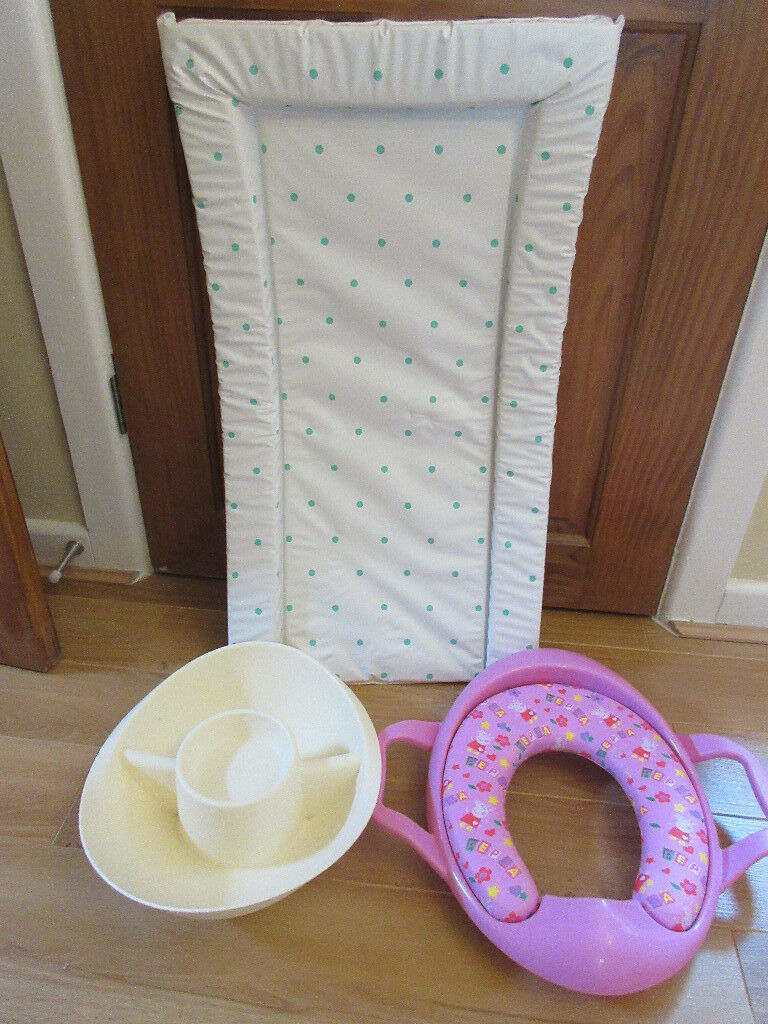 Changing mat/toilet training seat/top-tail bowl