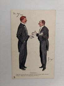 Post card. Raphard Tuck and sons. Oilette. Friendship