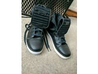 Levis black sneackers shoes high top