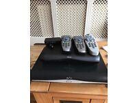 SKY HD TV IN 3 rooms kit