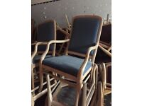 Restaurant style dining chairs