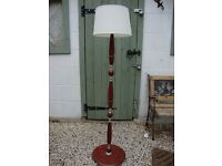 Standard Lamp With Shade.