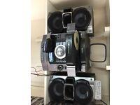 Sony Stereo, 155W x 2 RMS, Mini Hifi System, MP3