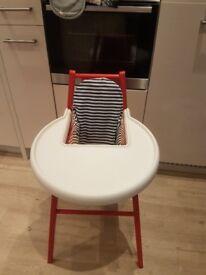 Ikea wooden highchair