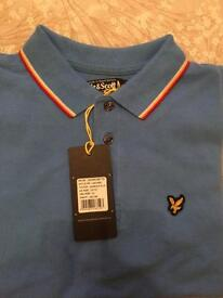 Lyle and Scott Polo T-shirt NEW
