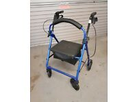 4 WHEELED HEAVY DUTY ROLLATOR