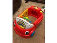 Laugh and learn crawl around toy car Fisher-Price