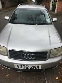 Silver Audi for quick sale