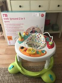 Mothercare walk around 2 in 1