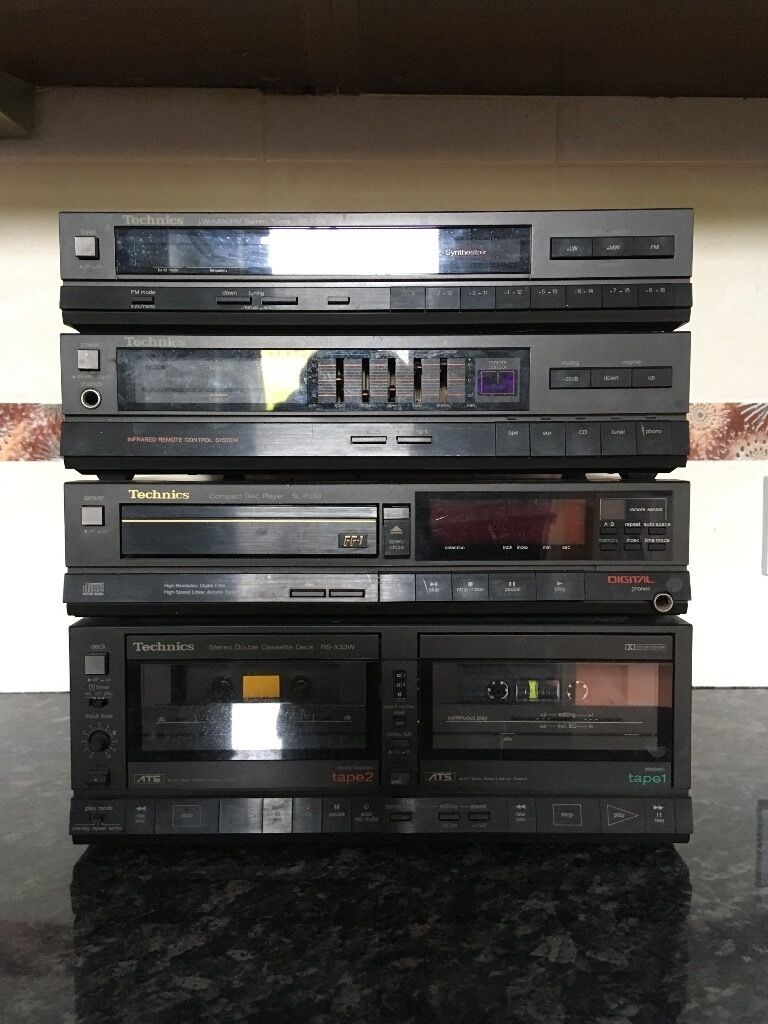 Technics Hifiin Bournemouth, DorsetGumtree - Technics tuner xt33l Technics stereo intergrated amplifier su x33 Technics compact disc player slpj33 Technics stereo double cassette deck RA x33 All in good working order I also have a technics turntable in another add on gumtree but you would need...