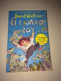 Billionaire boy by David Walliams