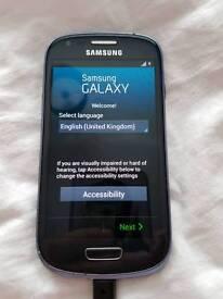 Samsung galaxy s3 mini . VODAFONE