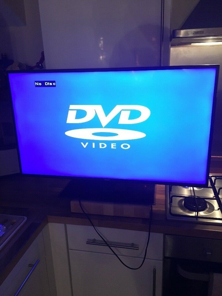 40 Inch Tv With Built In Dvd Player In Birtley County Durham Gumtree