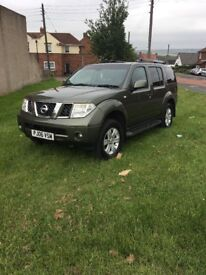2006 NISSAN PATHFINDER 2.5DCI IMMACULATE