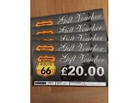 Route 66 Motorbike rider training or hire voucher