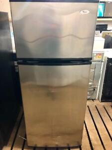 Whirlpool Stainless Steel Fridge, Free 30 Day Warranty, Save The Tax Event