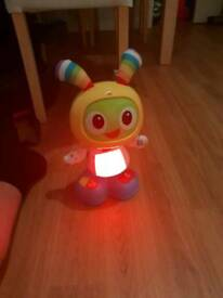 Dancing toy with voice record
