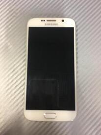 Galaxy S6. Unlocked. White