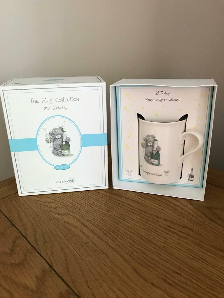 21st Birthday Mug Gift Set