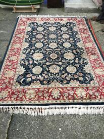 Fantastic Large Vintage Persian Oriental 100% Wool Rug