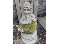 Garden Ornaments - Gnome, Crocodile and Planter. Will split.