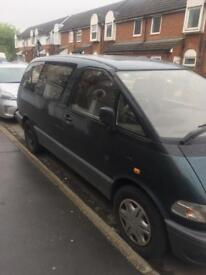 8 SEATER TOYOTA PREVIA (AUTOMATIC) WITH MOT