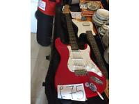 Electric guitar collection from Birchington