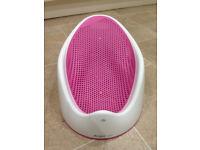 Angelcare baby bath - pink