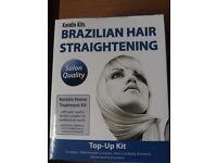 Brazilian hair straightening top-up kit