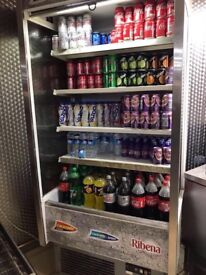 Freezer drink full working good condition