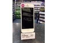 Apple iPhone 5 16GB White/Silver -- Unlocked