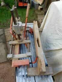 Mortice lock cutter