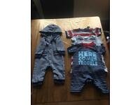 Boys 3-6 months (3 Rompers)