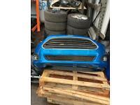 Fiesta facelift complete bumper
