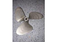 Inboard bronze boat propeller