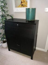 Ikea Hemnes black / brown Bureau