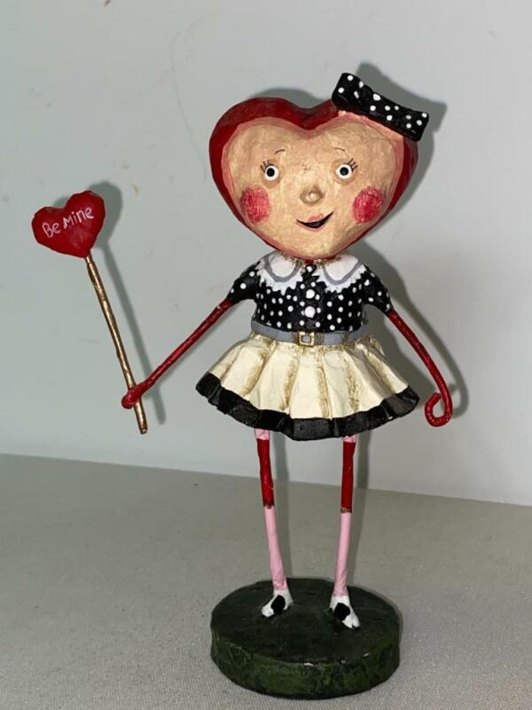 Lori Mitchell Sweetheart Girl Valentines Day Figurine Decoration Figure