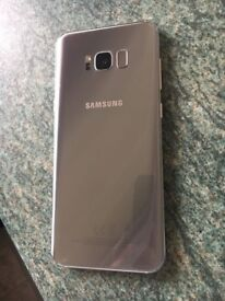 Samsung s8+ plus arctic silver- EE