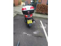 Yamaha *xmax 125 great runner 75 mph easy want to sell getting a car MOT till january next year