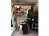 large 4ft gold mirror