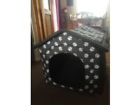Material dog house