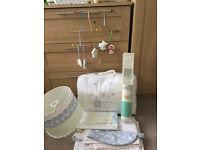 Baby girls cot bed and nursery decor set - Little Bird by Jools Oliver