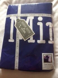 My side/ Your side double duvet set new