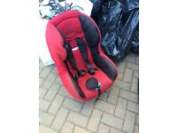 Maxi cosi red car seat