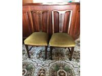2 x Antique Dining Chairs