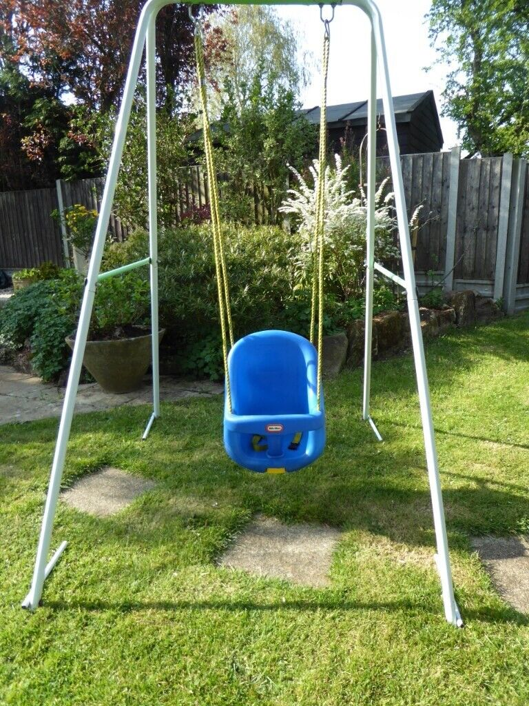 Little Tikes Complete Swing Frame High Backed And Infant
