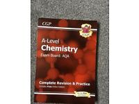 A level Chemistry AQA CGP revision guide