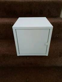 Ikea Lixhult storage cabinet - Brand new - white metal