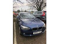 2013 (63 reg) BMW 1 Series (116i), 1.6L, 20,000 miles, Tax & MOT, Full Service History