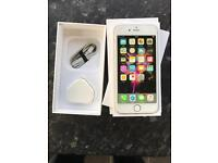 iPhone 6 16gb unlocked with box and charger/lead